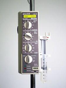 Baxter Bard INFUS OR Pump - 60 Day Warranty