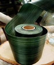"4""x 50 Yard Natural color Ti Leaf Floral Ribbon | US SELLER"