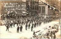 Real Photo Last GAR Parade At Rochester NY New York Grand Army Republic RPPC C19