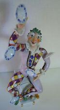 MEISSEN PORCELAINE-Personnage Clown Pierrot P. Strang porcelain figurine #60460 27 cm