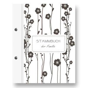 Stammbuch Blum Stammbuch Familienbuch Buch der Familie Standesamt Dokumente