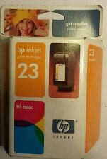 HP Inkjet print cartridge 23 tricolor expired March of 05
