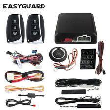 Easyguard smart key Pke car alarm security system push button remote start stop