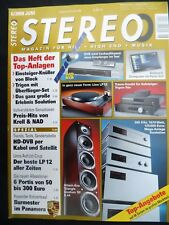 STEREO 6/09 BLOCK R/V 100,NAD C 326 BEE,KRELL S 300i,TRIGON ENERGIE,LINN LP 12