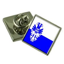 Arnhem City Netherlands Flag Lapel Pin Engraved Box