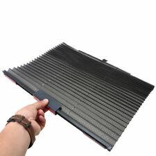 Black Retractable Car Curtain Side Window Shade Windshield Sunshade Shield Visor
