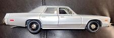 1975 Dodge Monaco 1:24 Silver Gray Model Car