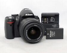 Nikon D3000 10.2MP DSLR Digital Camera AF-S 18-55mm 1:3.5-5.6 VR SC 2,400