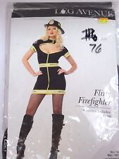 Women's Size M/L Fire woman Dress Cosplay Halloween Costume Party Leg Avenue