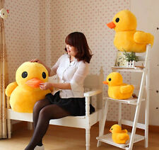 "New 12"" Ducks Yellow Rubber Soft Plush 30cm Stuffed Animal Doll Baby Pillow Toys"