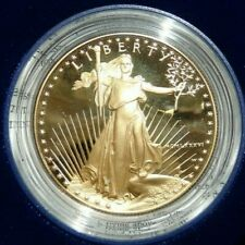 1986-W Gold American Eagle Flawless DCAM Proof $50 (1 oz) with  OGP & COA