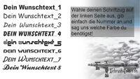 Wunschtext Aufkleber Schriftzug 15cm*Domain*Tuning*Sticker*OEM