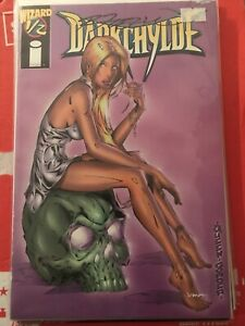 DARKCHYLDE 1/2 SIGNED BY CREATOR RANDY QUEEN COVER ARTIST wizard magazine