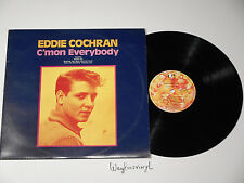 EDDIE COCHRAN - C'MON EVERYBODY, UAB.10450 EMI AUSTRALIA; AUSTRALIAN PRESS