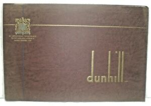 Alfred Dunhill ltd.Canadian 1955 Catalogue 24 pages of vintage pipe,lighters etc