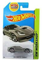 Hot Wheels 1:64 Diecast Model - 2014 Corvette Stingray #207 - Workshop