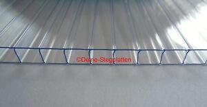Doppelstegplatten 4-10 mm klar div. Breiten Länge 1400/1500 mm Gewächshaus