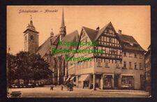 119737 AK Schmalkalden Altmarkt Kirche um 1920