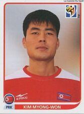 N°519 KIM MYONG-WON ROOKIE KOREA DPR STICKER PANINI WORLD CUP SOUTH AFRICA 2010