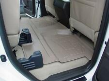Chevy Silverado / GMC Sierra Crew Cab 2001 - 2003 2nd Row Tan Floor Mat Liner