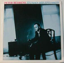 """PETER BEHRENS - HEURES DER SOLITUDE - SABLE DANS TRANSMISSION [F129] 7""""SINGLES"""