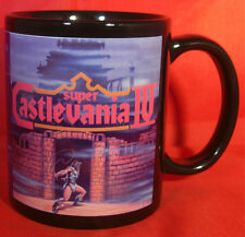 SUPER CASTLEVANIA 4 IV - Black Coffee MUG - CUP - Saturn - Retro