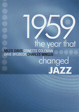 1959 THE YEAR THAT CHANGED JAZZ - DVD miles davis mingus brubeck ornette coleman