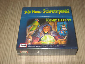 CD Die Hexe Schrumpeldei Komplettbox Folge 1 - 11 NEU OVP