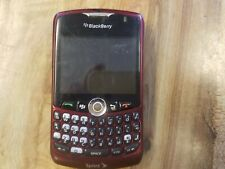 Blackberry Curve Qualcomm 3G CDMA Phone, Burgundy, Sprint