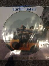 THE BEACH BOYS -  Surfin Safari  - New Picture Disc Vinyl Lp - Brand New
