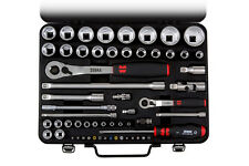 Wurth Zebra Socket wrench 1/4+1/2 inch assortment in case 59PC Tool Set Mechanic
