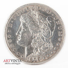 1900 Morgan One Dollar Silver Silber Münze USA Amerika Coin Liberty