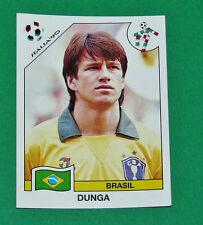 N°203 DUNGA BRESIL BRASIL PANINI COUPE MONDE FOOTBALL ITALIA 90 1990 WC WM