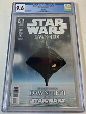2012 Dark Horse STAR WARS DAWN OF THE JEDI #0 third printing ~ CGC 9.6
