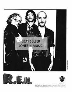 R.E.M. official 8x10 band promo/publicity/press photo 1998 Warner Bros. MINT