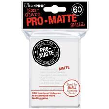 ULTRA PRO Pro Matte Non-Glare White Small 60ct 62x89mm