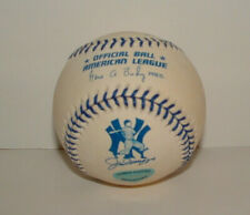 One Dozen Joe Dimaggio Commemorative Official American League Baseballs 12 Balls