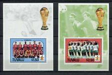 s6145) TUVALU 1986 MNH** WC Football - CM Calcio S/S
