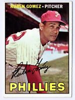 1967 Topps #427 Ruben Gomez Philadelphia Phillies Card