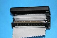 SALE! Echosonic Diatonic Harmonica w/Case & Cleaning Cloth in the Key of G, EH-G