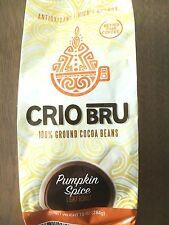 Crio Bru PUMPKIN SPICE Cocoa Healthy Coffee Energy Alternative 10oz GROUND CACAO