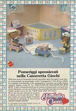 X2511 Famiglia Cuore - Cameretta giochi - Pubblicità 1988 - Advertising