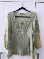 Elisa Cavaletti Club By Bottega Shirt Bluse Gr 40/42 XL Grün