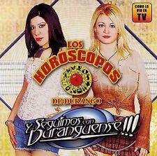 """CD Los Horoscopos De Durango , Y Seguimos Con Duranguense """"NEW""""/Sealed"""