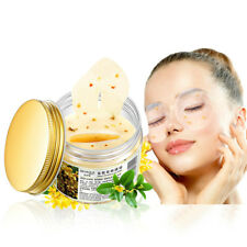 80 pcs/ bottle Osmanthus Eye Mask Moisturizing+Whitening Relieve Wrinkles