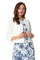 Roman Originals Womens Tailored Jacquard Jacket