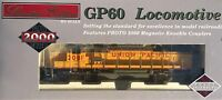 HO SCALE PROTO 2000 30557 GP60 UNION PACIFIC # 2081 LIMITED EDITION DIESEL
