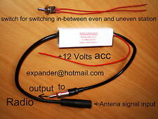 American Car Radio FM Band expander +.1MHz frequency shift US FM Converter to EU