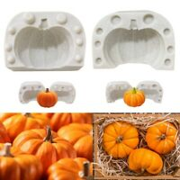Halloween Pumpkin Silicone Mold DIY Cake Chocolate Cookie Kitchen Baking Tools.