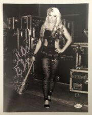 Alexa Bliss Signed Autographed FULL NAME 11x14 Photo WWE DIVA JSA WITNESS COA 10